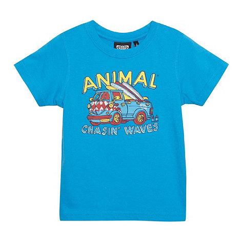 Animal - Boy+s blue van t-shirt