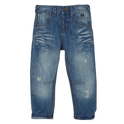 Mantaray - Boy+s blue light wash jeans