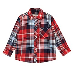 bluezoo - Boy's red checked shirt