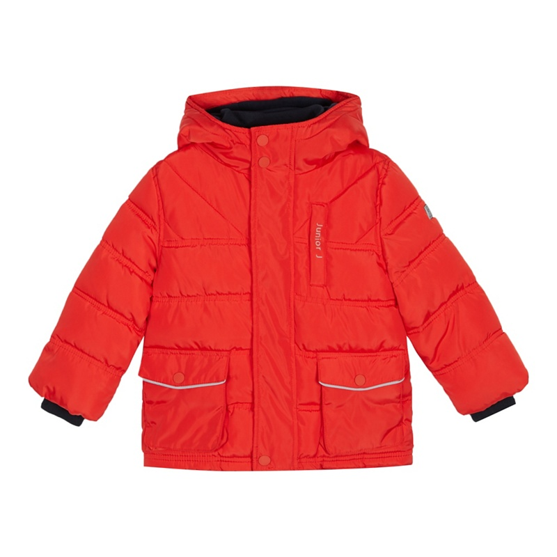 e9ab37181 J by Jasper Conran - Boys  Red Padded Shower Resistant Jacket ...