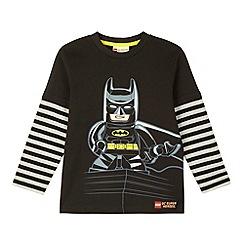 Lego - Boy's black 'Lego Batman' t-shirt