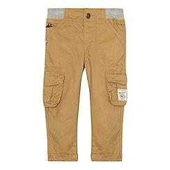 Mantaray - Boy's beige ribbed cargo trousers