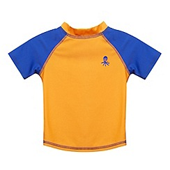 bluezoo - Boy's orange rash t-shirt