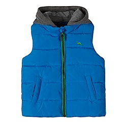 bluezoo - Boys' blue hooded gilet