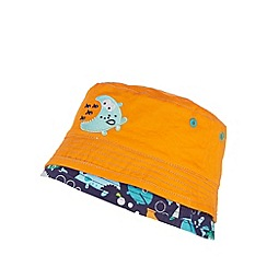 bluezoo - Pack of two boy's orange sea life hats