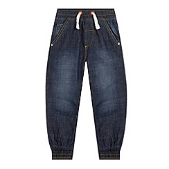 bluezoo - Boy's blue elasticated lightweight jean