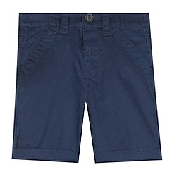 bluezoo - Boy's navy chino shorts