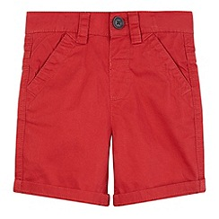 bluezoo - Boy's red chino shorts