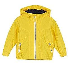 bluezoo - Boy's yellow fleece lined jacket