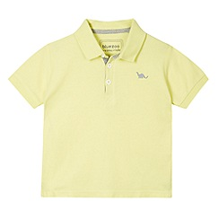 bluezoo - Boy's yellow pique polo shirt