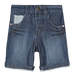 bluezoo - Boy's blue denim shorts