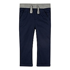 bluezoo - Boy's navy ribbed chinos