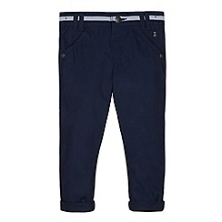 J by Jasper Conran - Designer boy's navy tape trim chinos