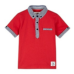 J by Jasper Conran - Designer boy's red polo top