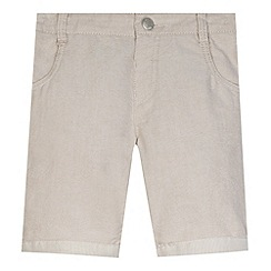 J by Jasper Conran - Designer boy's beige oxford shorts