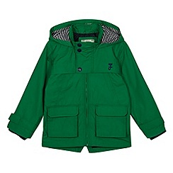 J by Jasper Conran - Designer boy's green rain coat