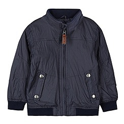 J by Jasper Conran - Designer boy's navy striped harrington jacket