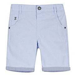 J by Jasper Conran - Designer boy's pale blue oxford shorts