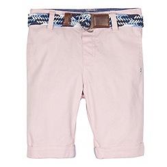 J by Jasper Conran - Designer boy's pink belted shorts