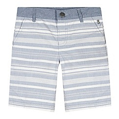 J by Jasper Conran - Designer boy's blue horizontal striped shorts