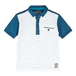 RJR.John Rocha - Designer boy's blue space dye polo shirt