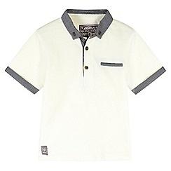 RJR.John Rocha - Designer boy's white smart pique polo shirt