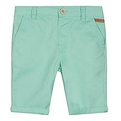 RJR.John Rocha - Designer boy's turquoise twill shorts