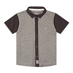 RJR.John Rocha - Designer boy's grey striped jersey shirt