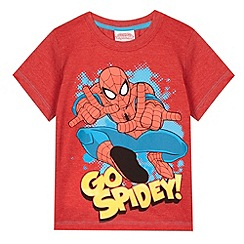 Spider-man - Boy's red 'Spiderman' t-shirt