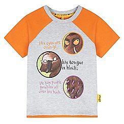 The Gruffalo - Boy's grey gruffalo story t-shirt