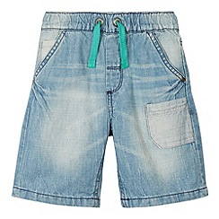 Mantaray - Boy's light blue denim shorts