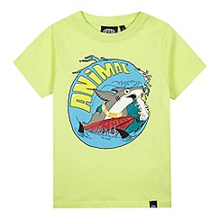 Animal - Boy's green shark print t-shirt