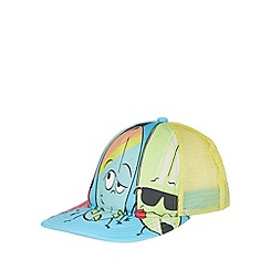 Animal - Boy's blue surfboard character print cap