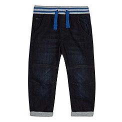bluezoo - Boy's blue ribbed waist jeans