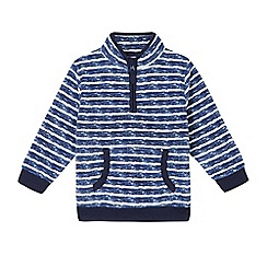 bluezoo - Boy's stripe fleece jacket
