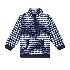 bluezoo - Boy's stripe fleece jacket