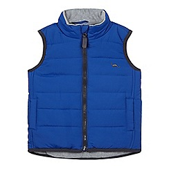 bluezoo - Boys' bright blue padded gilet