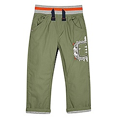 bluezoo - Boy's khaki poplin trousers