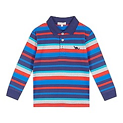 bluezoo - Boys' blue striped polo top