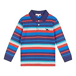 bluezoo - Boys' blue striped polo top