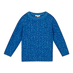 bluezoo - Boys' blue knitted jumper