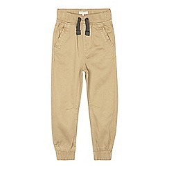 bluezoo - Boys' beige cuffed chinos