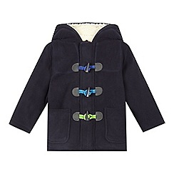 bluezoo - Boys' navy fleece coat
