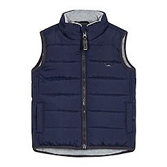 bluezoo - Boys' navy padded gilet