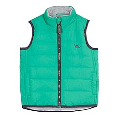 bluezoo - Baby boys' green padded gilet