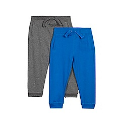 bluezoo - Set of two boys' blue and grey jogging bottoms
