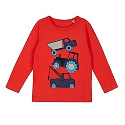 bluezoo - Boys' red truck top