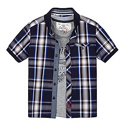 J by Jasper Conran - Designer boy's 2-in-1 short sleeved top and shirt