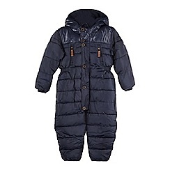 J by Jasper Conran - Boys' navy padded puddle suit