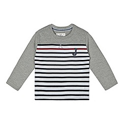 J by Jasper Conran - Designer boy's grey striped top